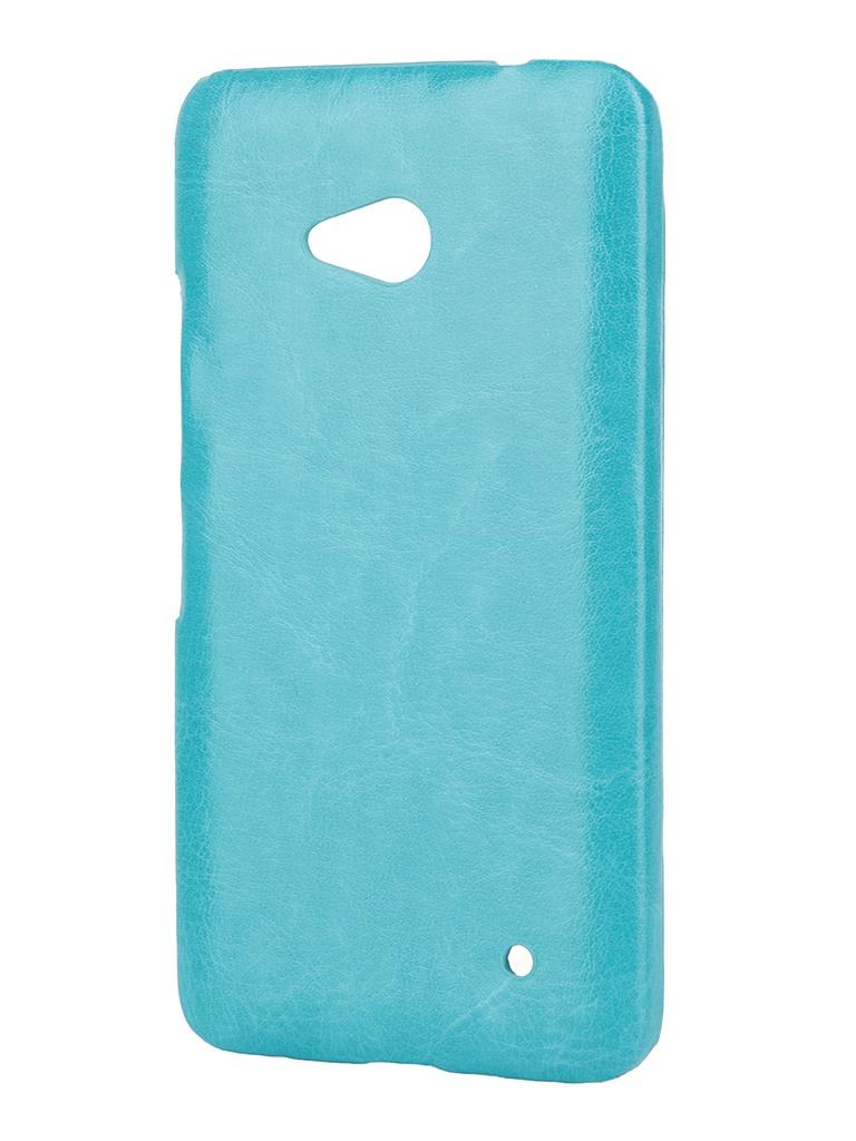 Аксессуар Чехол-накладка Nokia Lumia 640/640 Dual Sim Aksberry Turquoise