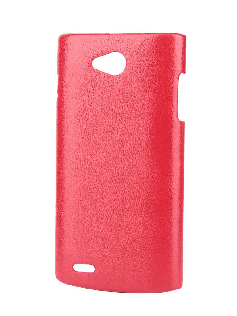 Аксессуар Чехол-накладка Philips S308 Aksberry Red