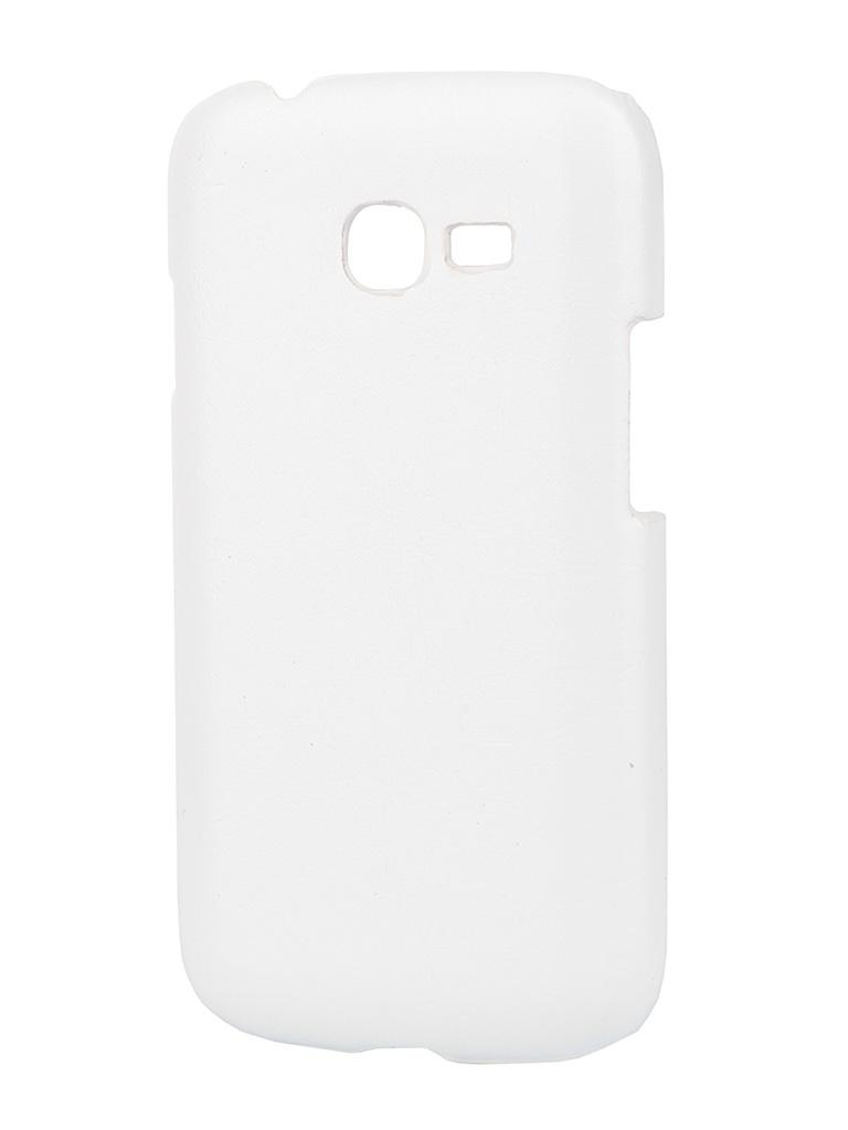Аксессуар Чехол-накладка Samsung GT-S7262 Galaxy Star Plus Aksberry White<br>