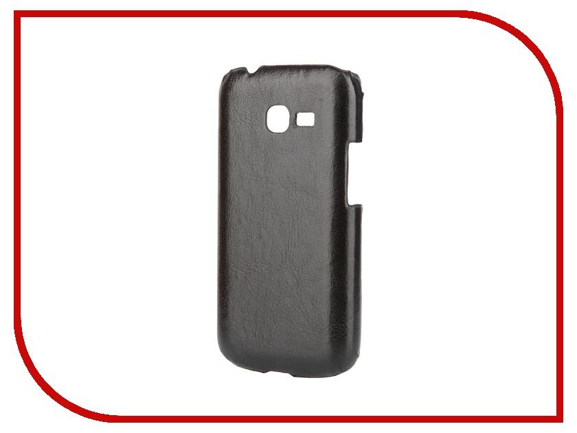 Аксессуар Чехол-накладка Samsung GT-S7262 Galaxy Star Plus Aksberry Black<br>
