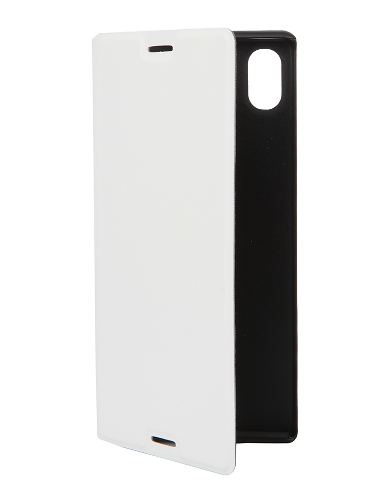 Аксессуар Чехол-книжка Muvit MFX Folio Case Sony XperiaM4 Aqua White SEEAF0027