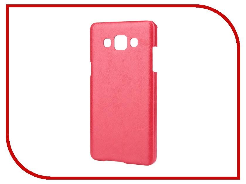 Аксессуар Чехол-накладка Samsung SM-A500 Galaxy A5/A5 Duos Aksberry Red<br>