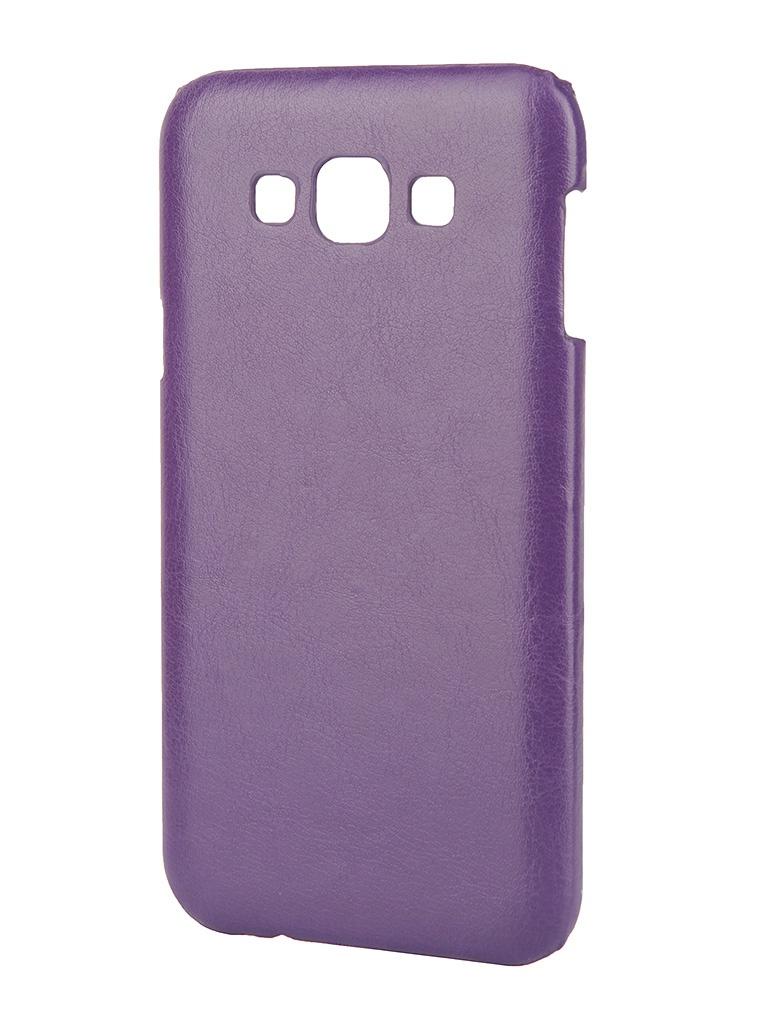 Аксессуар Чехол-накладка Samsung SM-E700 Galaxy E7 Aksberry Violet