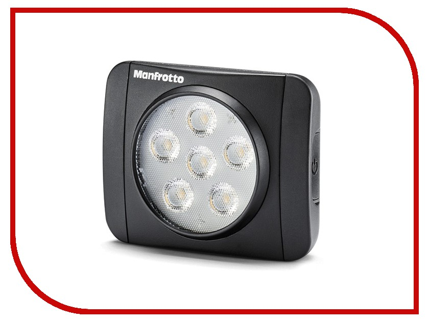 Накамерный свет Manfrotto MLUMIEART-BK LED Lumie Art