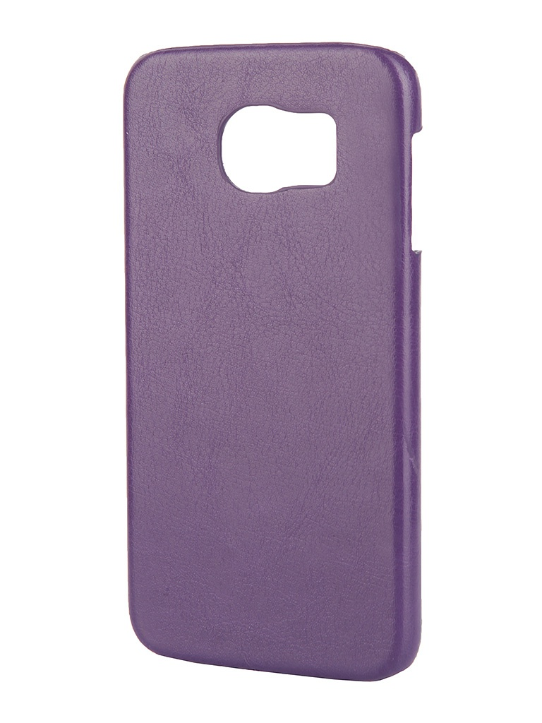 Аксессуар Чехол-накладка Samsung SM-G920 Galaxy S6 Aksberry Violet<br>