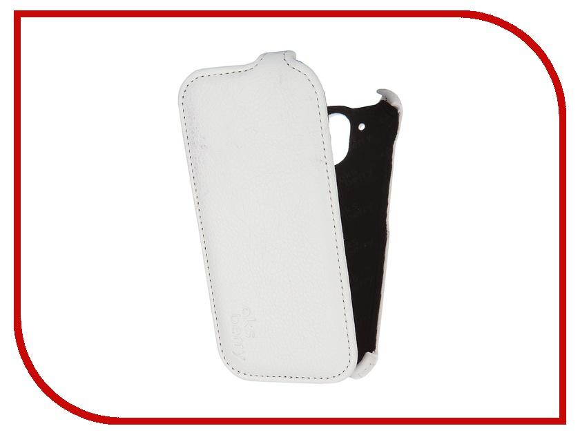 Аксессуар Чехол HTC Desire 326G+/526G+ Dual Sim Aksberry White