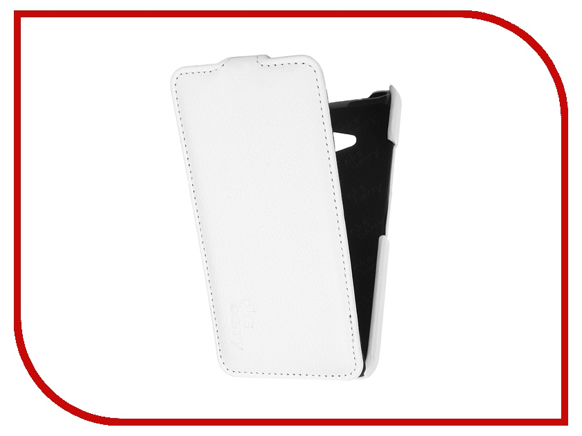 Аксессуар Чехол Nokia Lumia 640/640 Dual Sim Aksberry White