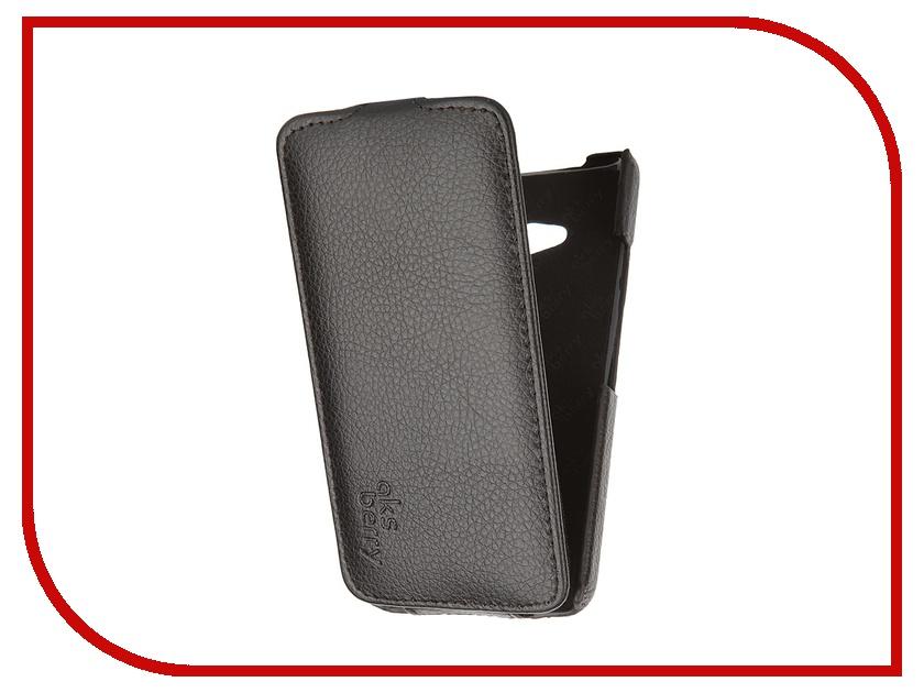 Аксессуар Чехол Nokia Lumia 640/640 Dual Sim Aksberry Black