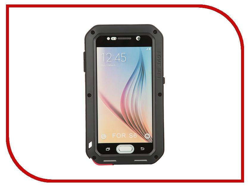 Аксессуар Чехол Samsung G920F Galaxy S6 Lunatik/Love Mei Palmexx Black PX/CH SAM S6 LOVE MEI Blk чехол для samsung s8530 wave ii palmexx кожаный в петербурге