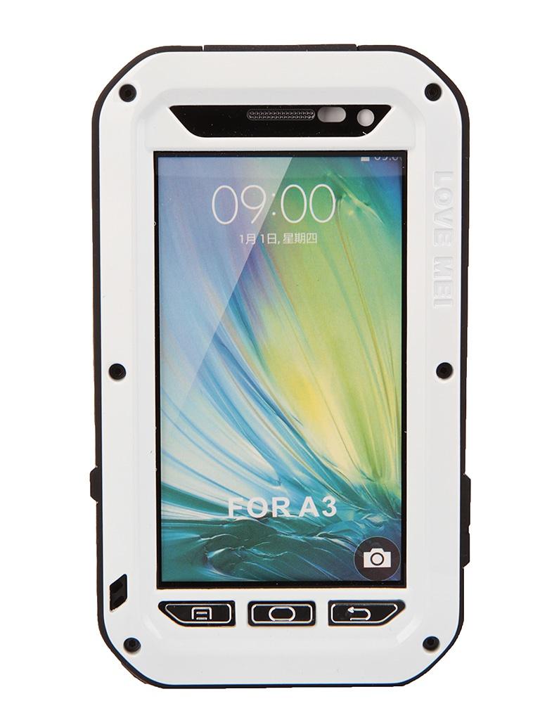 Аксессуар Чехол Samsung Galaxy A3 Lunatik/Love Mei White Palmexx PX/CH SAM A3 LOVE MEI Wht<br>