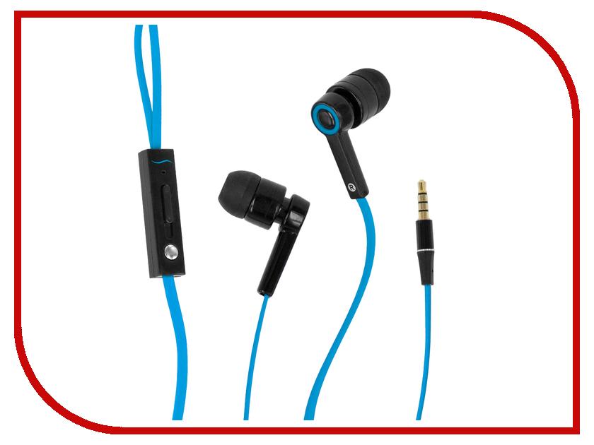 Гарнитура Hi-Fun Hi-Earphones V Blue<br>