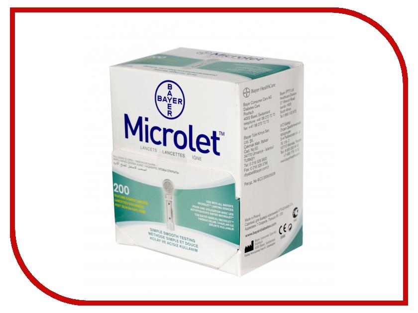 Аксессуар Bayer Microlet 200 ланцеты