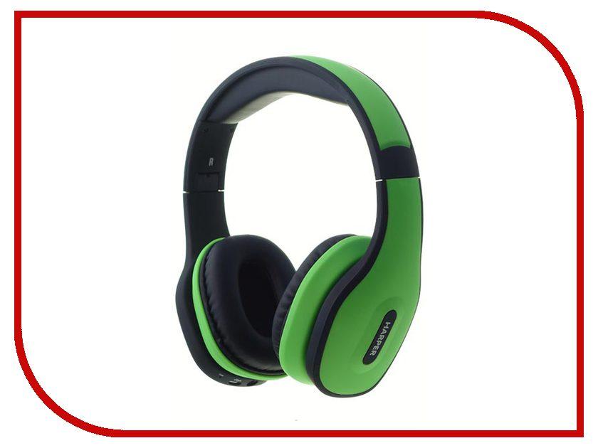 Harper HB-401 Green наушники с оголовьем harper hb 401 green с микроф зел