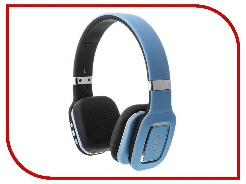 Harper HB-402 Blue sterlingg 10788 электрический чайник цвет белый синий