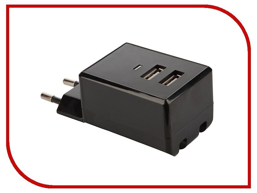 Зарядное устройство Air-J USB 220V Black<br>