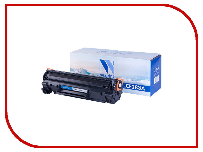 Картридж NV Print CF283A для HP LaserJet MFP M125/M127 nv print cf303a magenta тонер картридж для hp laserjet enterprise flow mfp m880z m880z plus m880z plus nfc