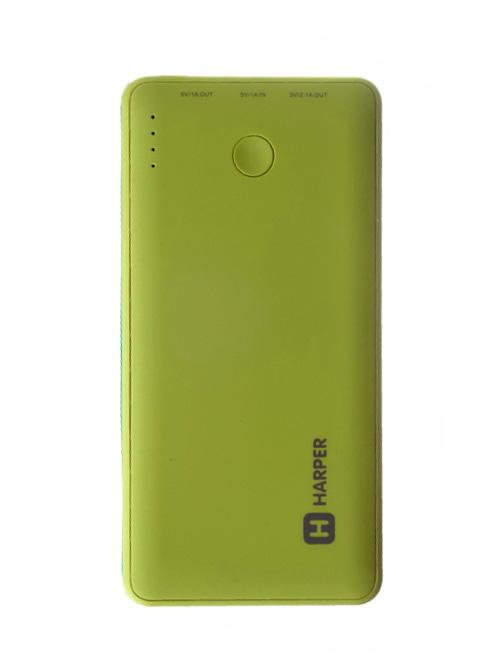 Аккумулятор HARPER PB-6001 6000 mAh Lime