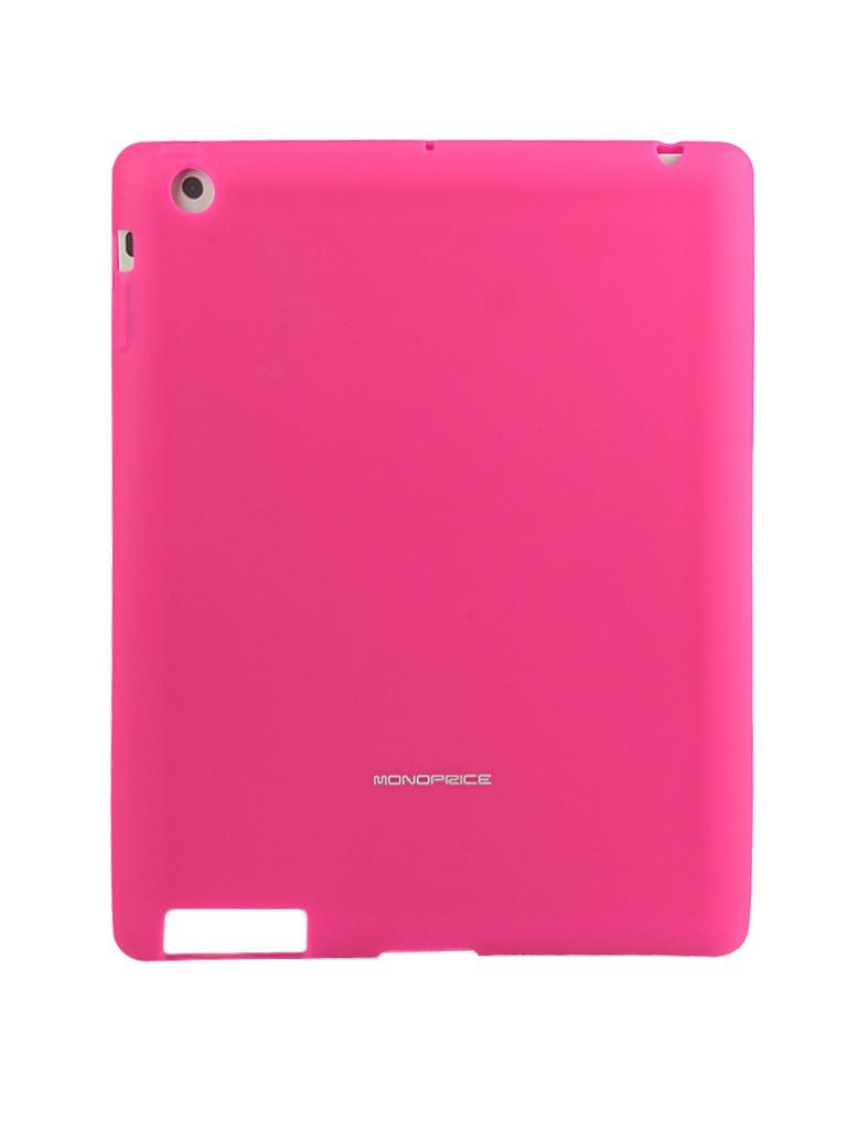 Аксессуар Чехол Monoprice Premium Silicone Case для iPad 2 / iPad 3 / iPad 4 Pink 8445<br>