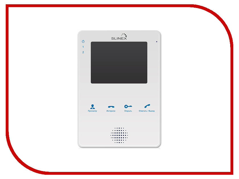 Видеодомофон Slinex MS-04 White