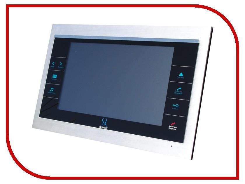 Видеодомофон Slinex SL-10 Silver-Black