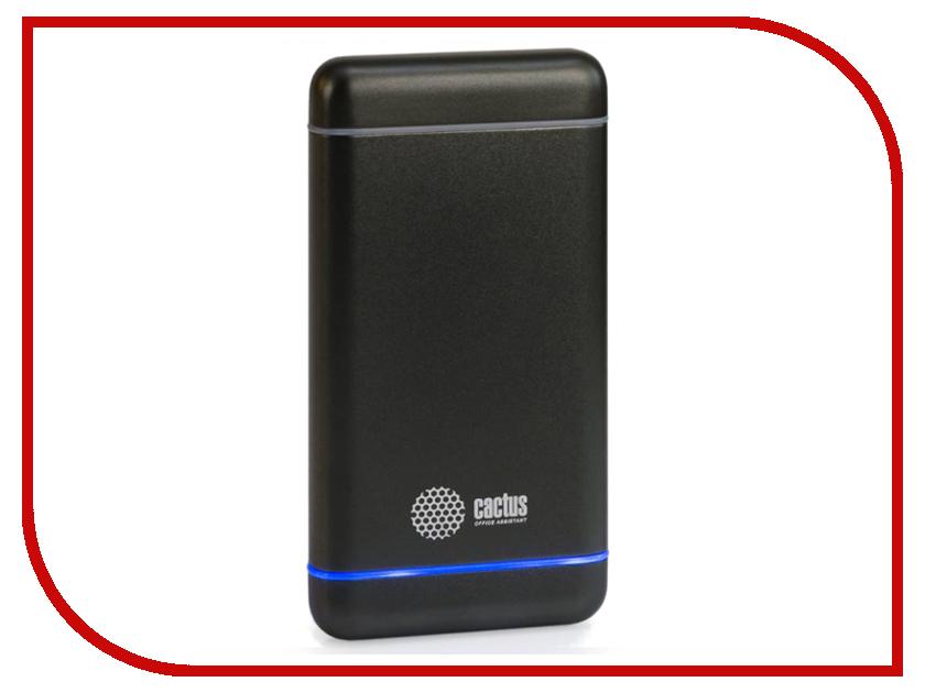 Аккумулятор Cactus 10000 mAh CS-PBMS029-10000SG Graphite<br>