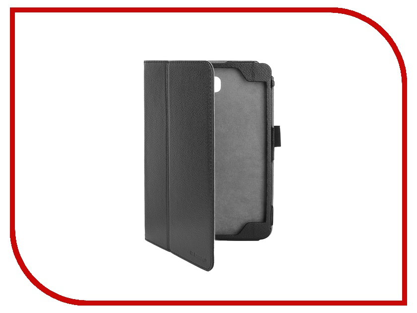 Аксессуар Чехол Samsung Galaxy Tab A 8.0 IT Baggage иск. кожа Black ITSSGTA8002-1<br>