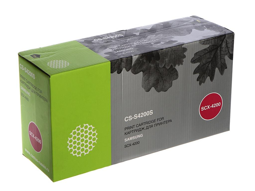 Картридж Cactus CS-S4200S для Samsung SCX-4200 Black