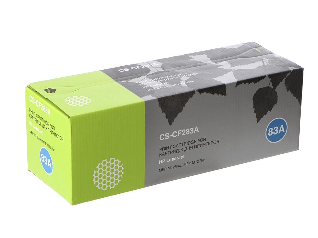 Картридж Cactus CS-CF283A для HP LaserJet Pro MFP M125nw/MFP M127fw Black