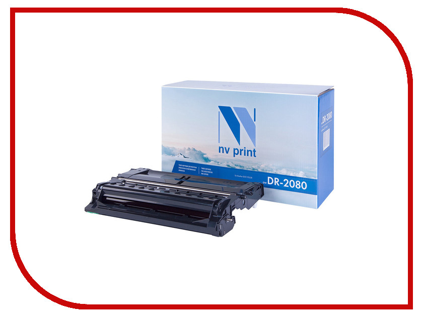 Фотобарабан NV Print Brother DR-2080 для DCP-7055R 12000k<br>