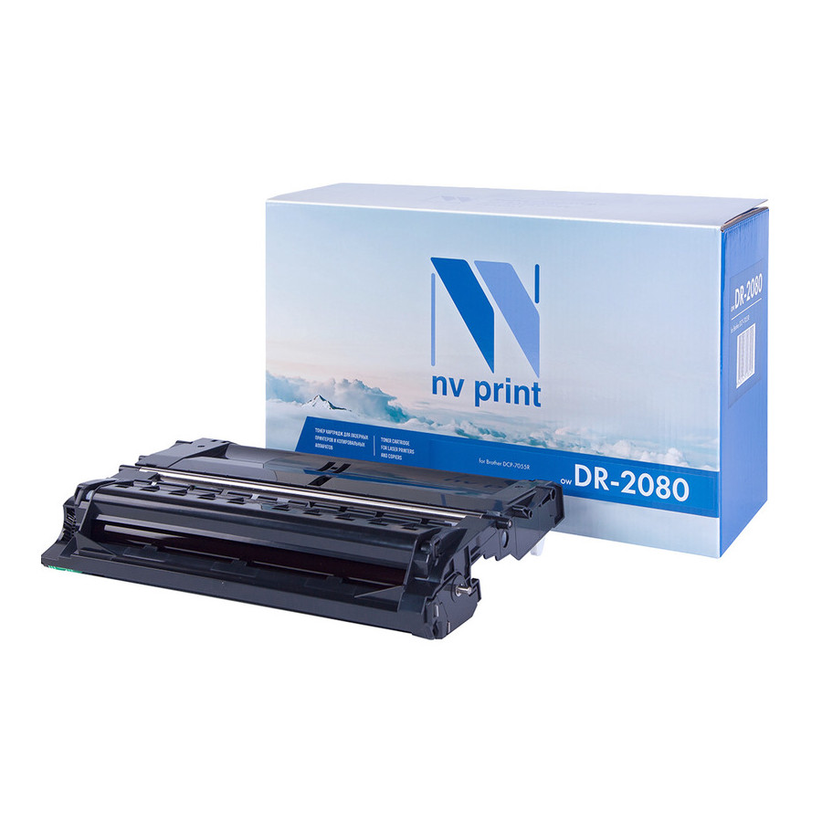 Фотобарабан NV Print Brother DR-2080 для DCP-7055R 12000k brother dr 2175