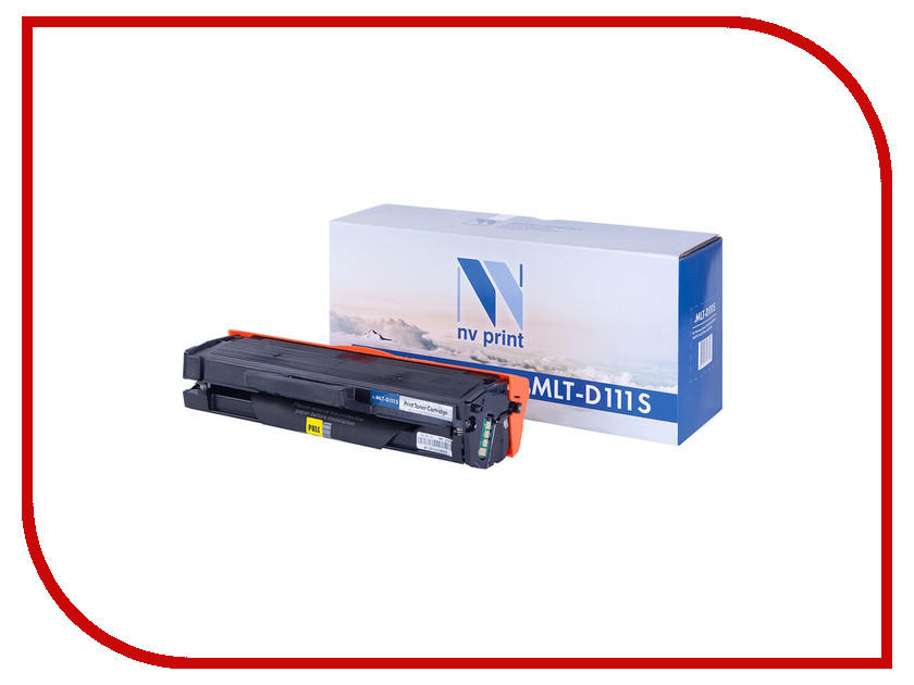 Картридж NV Print Samsung MLT-D111S для Xpress M2020/M2020W/M2070/M2070W/M2070FW 1000k картридж colouring cg mlt d111s для samsung xpress sl m2020 2022 2070 1000стр