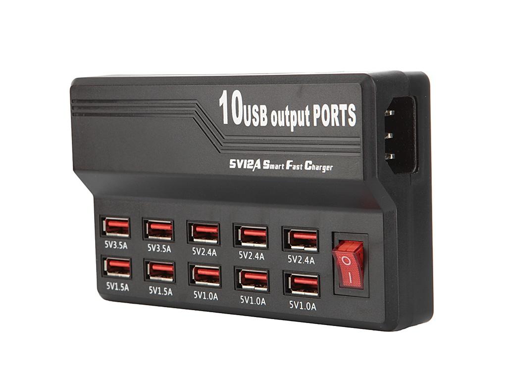 Зарядное устройство Palmexx 10xUSB PX/PA-10USB-12A цена и фото