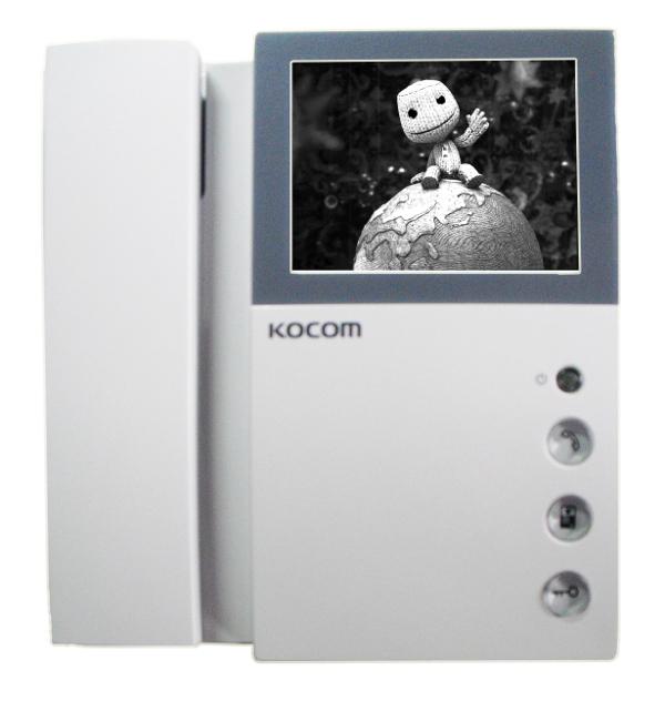 Видеодомофон Kocom KVM-301EV Black-White<br>