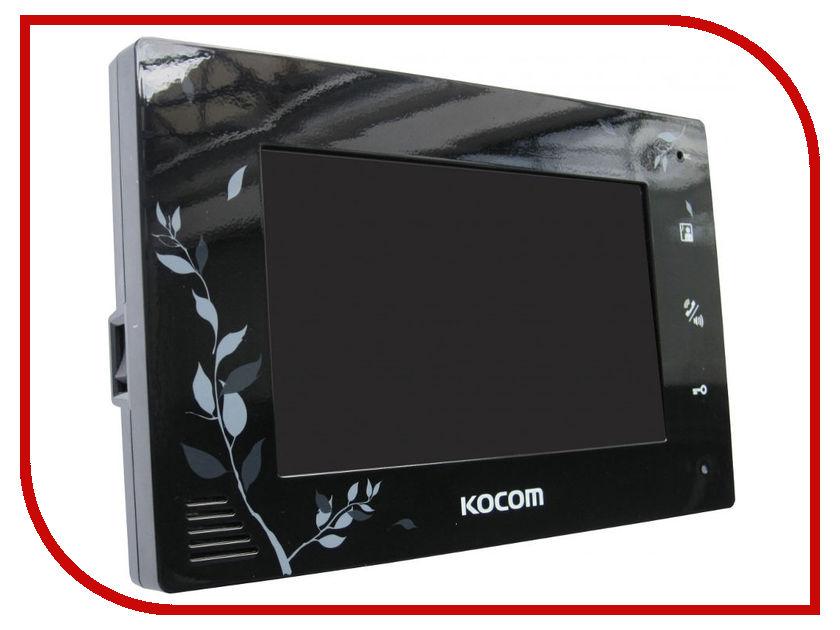 Видеодомофон Kocom KCV-A374SD-4 Black