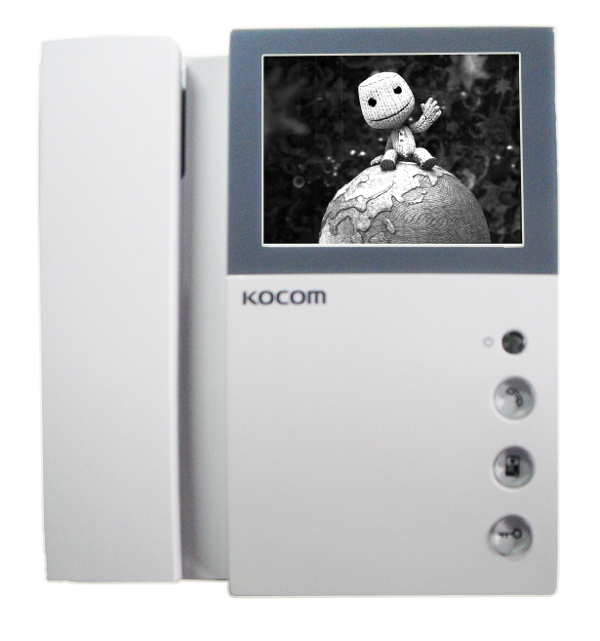 Видеодомофон Kocom KVM-301 XL Black-White<br>