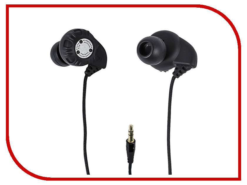 Наушники Monoprice Enhanced Bass Earphones Hi-Fi Black 9927<br>