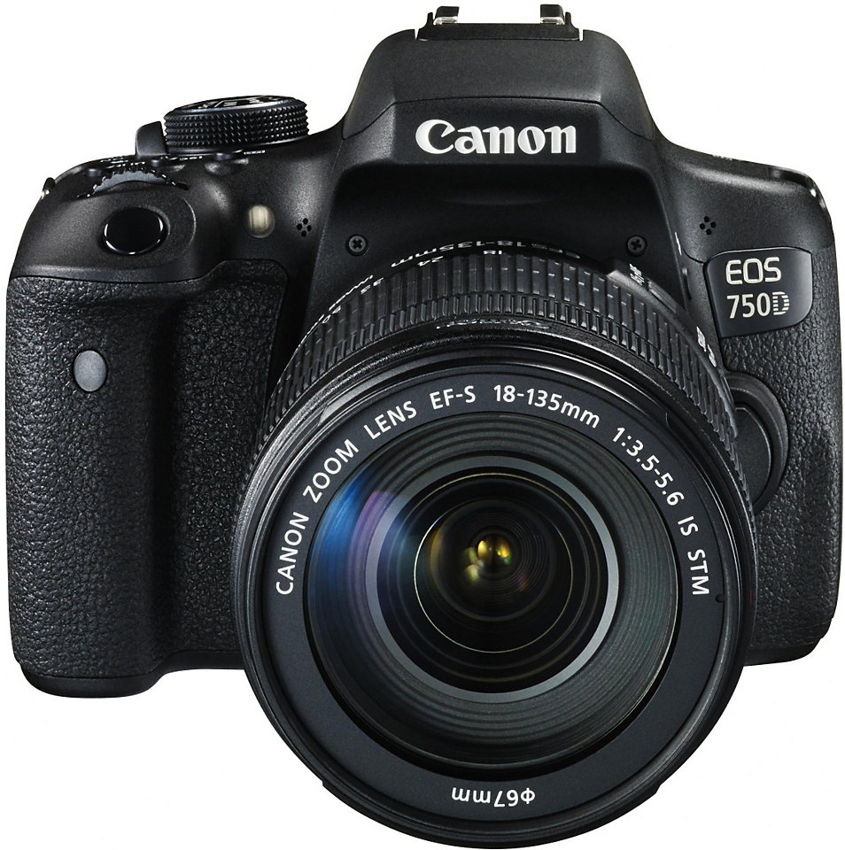 Фотоаппарат Canon EOS 750D Kit 18-135 IS STM*