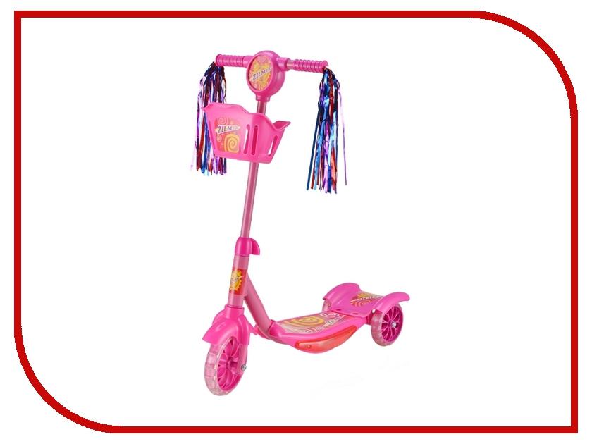 где купить Самокат Zilmer ZC-70 Pink ZIL1812-204 дешево