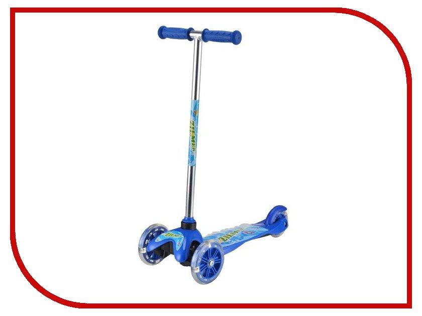 Самокат Zilmer Z-65 мини zilmer бумеранг веселый ветер цвет синий