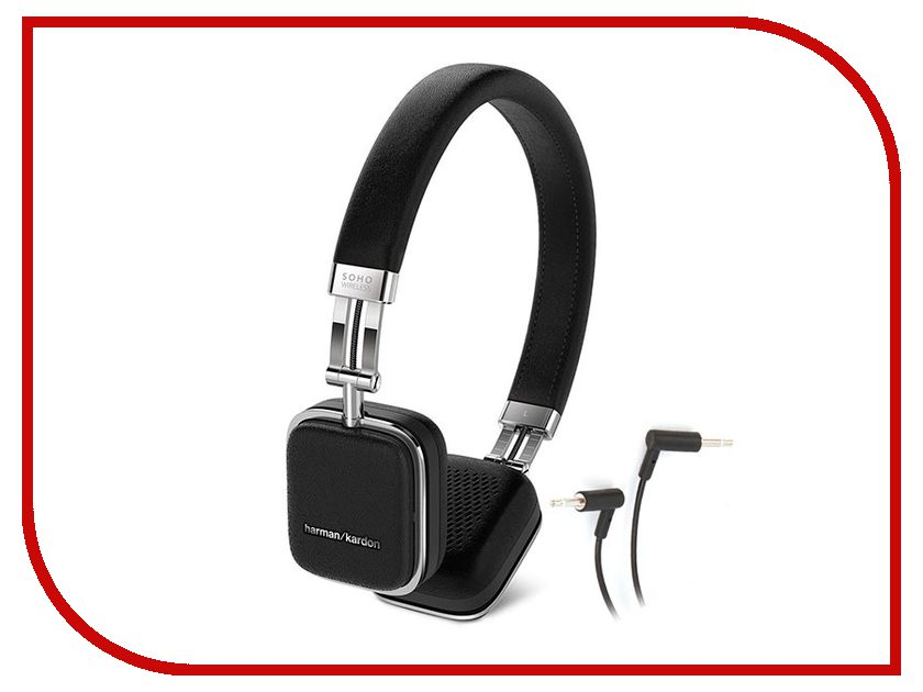 цена Harman Kardon Soho BT Black HKSOHOBTBLK