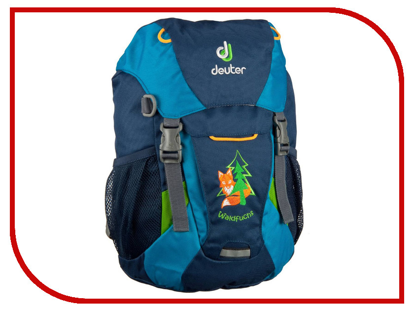 Велорюкзак Deuter Family Waldfuchs Midnight-Turquoise 3610015_3306 рюкзак deuter daypacks giga bike 28l 2015 turquoise midnight