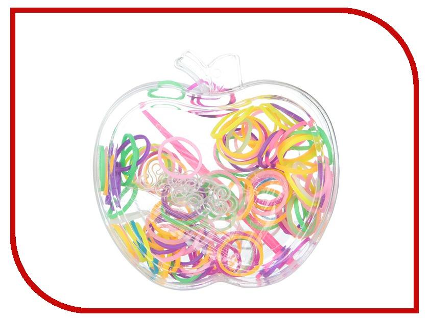 Набор для творчества DIY Резиночки для плетения Формочка Яблоко