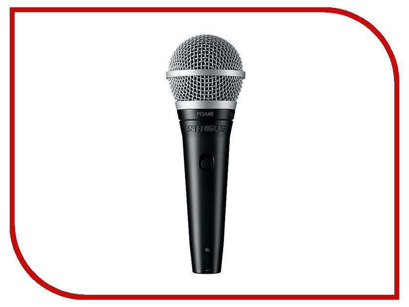 Микрофон Shure PGA48-QTR-E вокальный микрофон shure pga58 qtr e