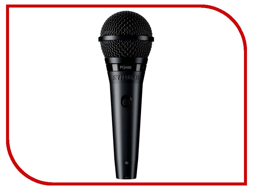 Микрофон Shure PGA58-QTR-E вокальный микрофон shure pga58 qtr e