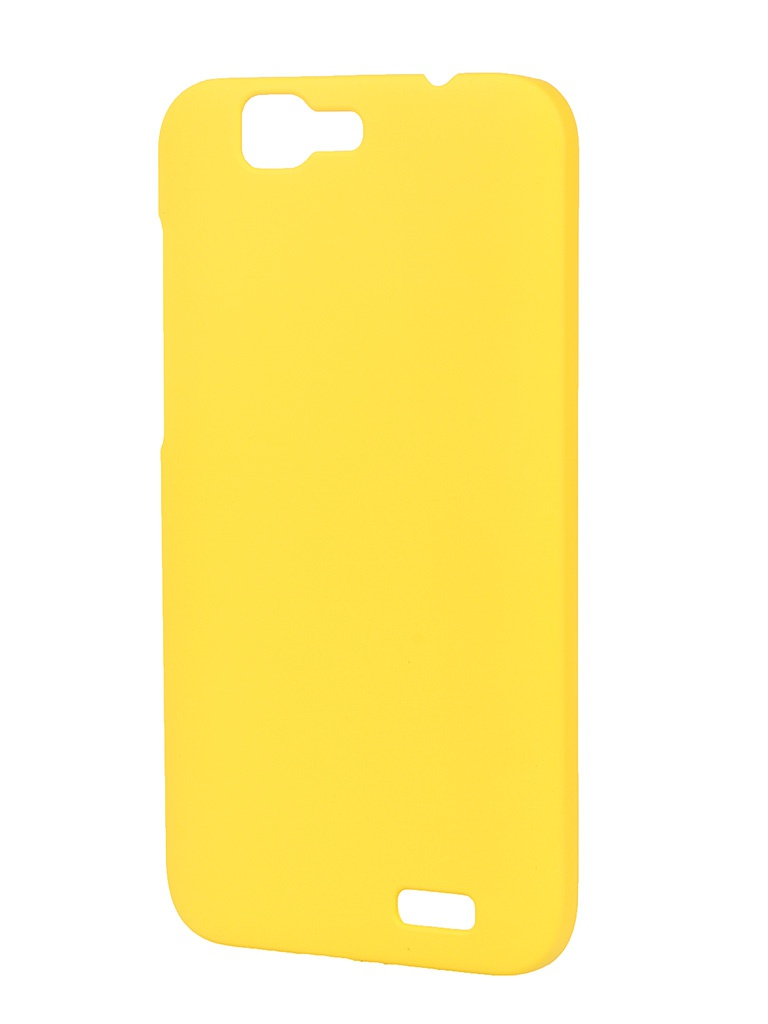 Аксессуар Чехол-накладка Huawei G7 Pulsar Clipcase PC Soft-Touch Yellow PCC0097 Yellow PCC0095