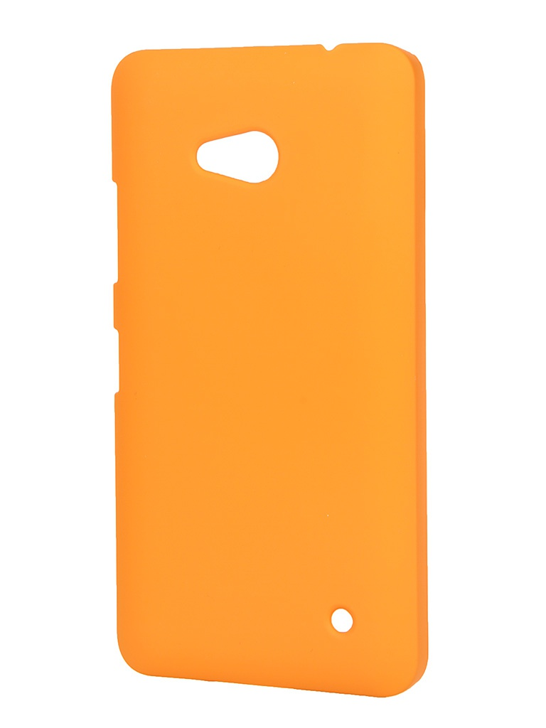 Аксессуар Чехол-накладка Microsoft Lumia 640 Pulsar Clipcase PC Soft-Touch Orange PCC0076