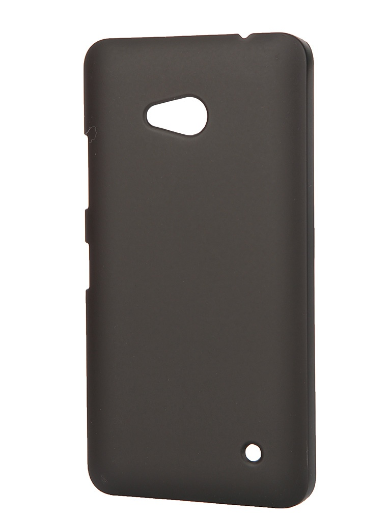 Аксессуар Чехол-накладка Microsoft Lumia 640 Pulsar Clipcase PC Soft-Touch Black PCC0079