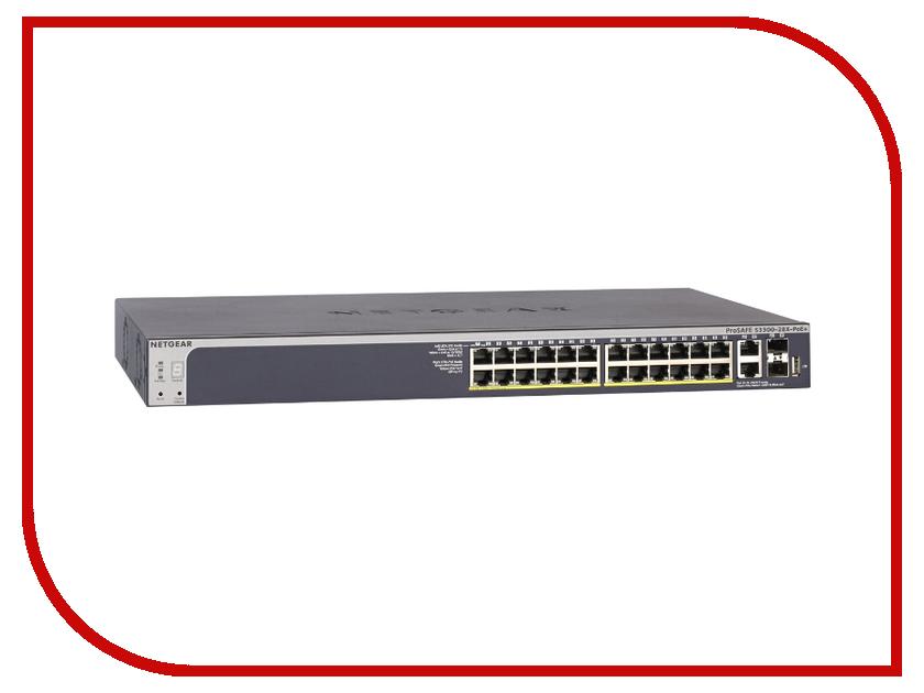 Коммутатор Netgear GS728TXP-100NES<br>