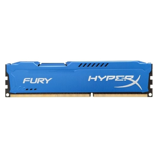 все цены на Модуль памяти Kingston HyperX Fury Blue DDR3 DIMM 1333MHz PC3-10600 CL9 - 8Gb HX313C9F/8 онлайн