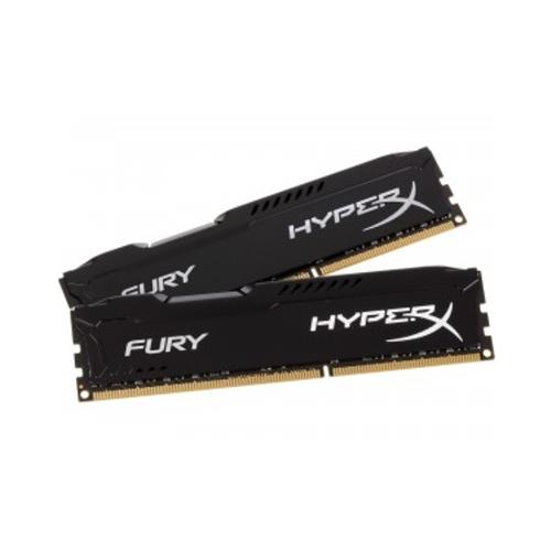 цена на Модуль памяти Kingston HyperX Fury Black DDR3 DIMM 1333MHz PC3-10600 CL9 - 16Gb KIT (2x8Gb) HX313C9FBK2/16